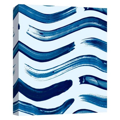 Brushstrokes II Decorative Canvas Wall Art 11 x14  - PTM Images