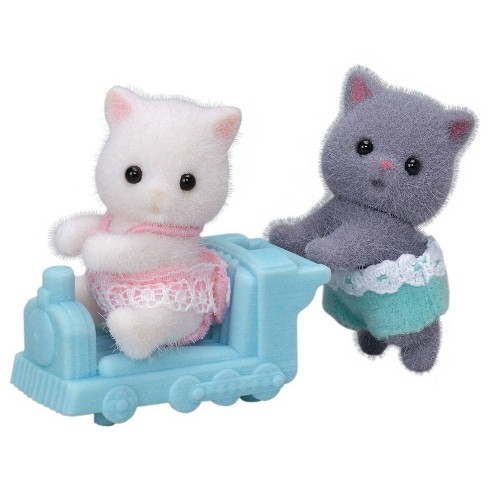 Calico Critters Persian Cat Twins - image 1 of 4