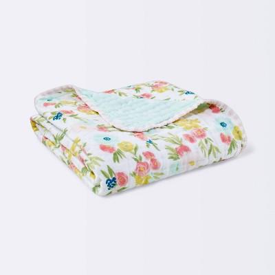 Swaddle Blanket Floral Fields - Cloud Island™ Pink