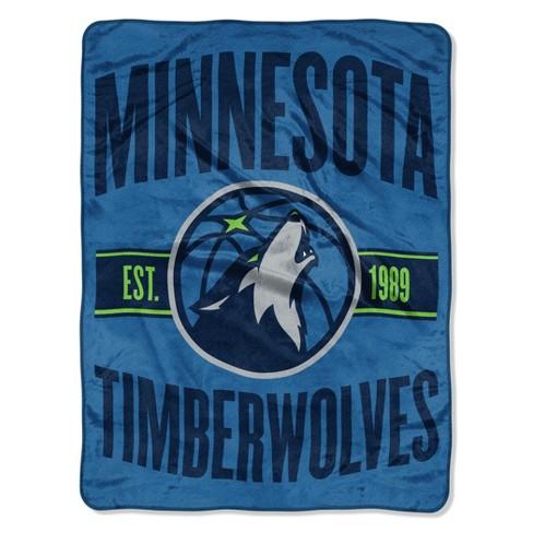 NBA Minnesota Timberwolves Micro Fleece Blanket - image 1 of 1