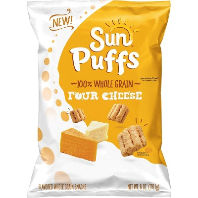 Veggie & Grain Chips: SunPuffs