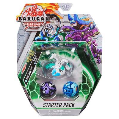 Bakugan Starter Pack - Pincitaur Ultra and 2 Bakugan Collectible Action Figures