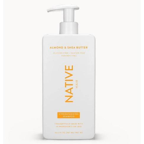 Native Almond & Shea Butter Strengthening Shampoo - 16.5 fl oz - image 1 of 4