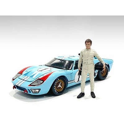 """""""Race Day 2"""" Figurine I for 1/18 Scale Models by American Diorama"""