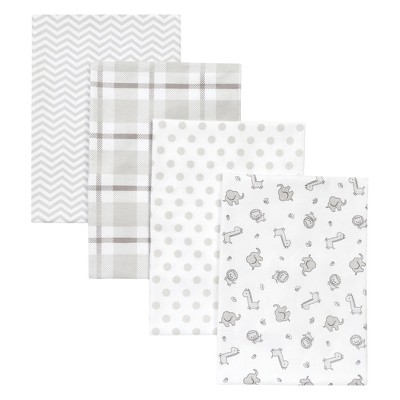 Trend Lab 4pk Blankets - Safari Chevron