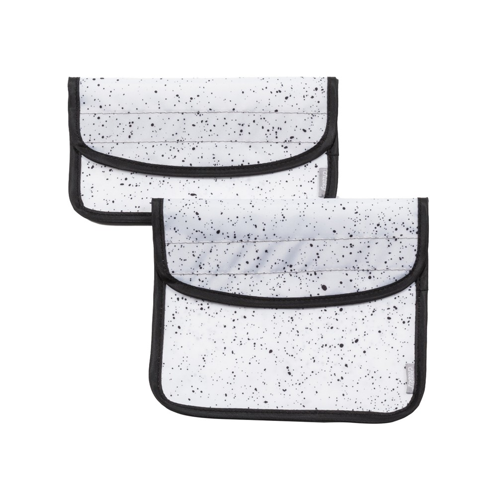 Cheeky Sandwich and Snack Bag Pack - Speckle, White