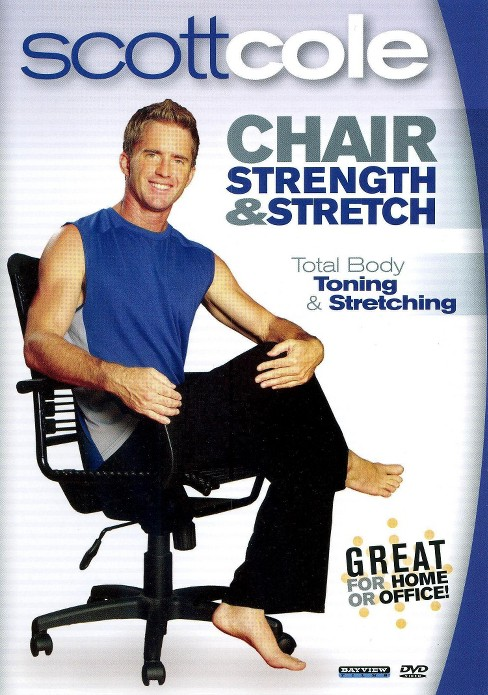 Chair strength & stretch with scott c (DVD) - image 1 of 1