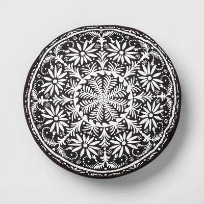 Black and White Medallion Floor Pillow - Opalhouse™