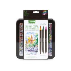 Crayola Signature 16ct Brush Dual-Tip Ultra Fine Marker