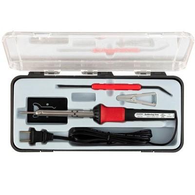 Monoprice 5-Piece Soldering Tool Set With 30-Watt Soldering Iron, Ideal For Light Soldering Jobs