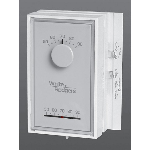 White-Rodgers 1E56N-444 Universal Vertical Heat/Cool Mechanical Thermostat - image 1 of 1