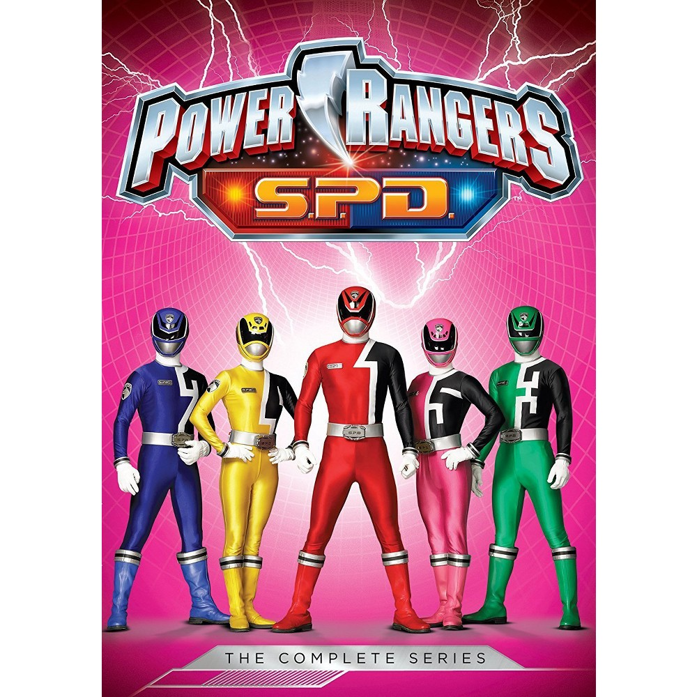 Power Rangers S.P.D. The Complete Series (Dvd)