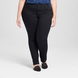 Women's Plus Size Skinny Jeans - Universal Thread™ Black