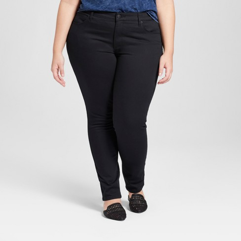 Women's High-Rise Skinny Jeans - Universal Thread™ (Regular & Plus) - image 1 of 3