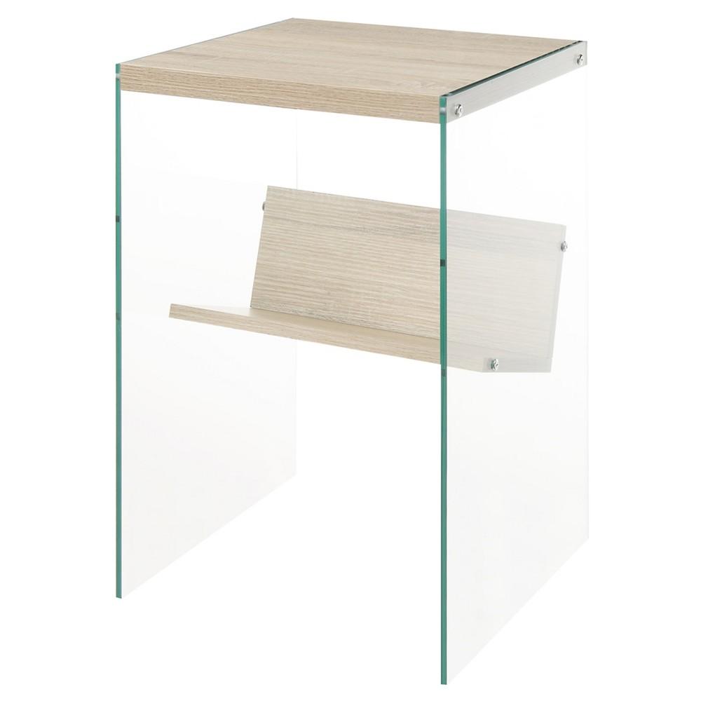 Soho End Table Oak - Johar Furniture