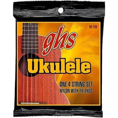 GHS H-10  Hawaiian Ukulele Black Nylon Strings