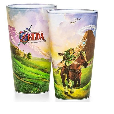 Just Funky The Legend of Zelda Ocarina of Time Pint Glass