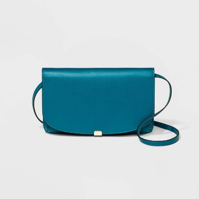 Wallet On A String Crossbody Bag - A New Day™ Seaside Teal