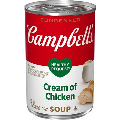 Campbell's Condensed Healthy Request Cream of Chicken Soup - 10.5oz