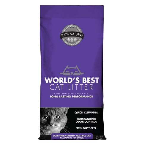 World's Best Cat Litter- Lavender Scented Cat Formula - image 1 of 4