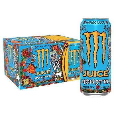 Monster Energy Mango Loco - 12pk/16 fl oz Cans