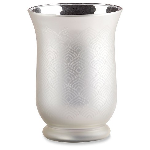 2ct Kate Aspen Champagne Frosted And Etched Vase Target