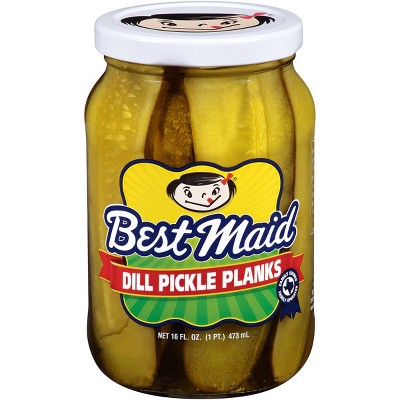 Best Maid Dill Pickle Planks - 16oz