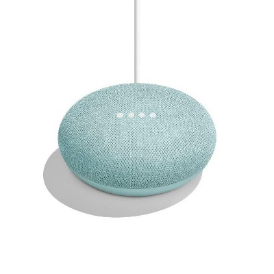 Google Home Mini Smart Speaker with Google Assistant - Aqua