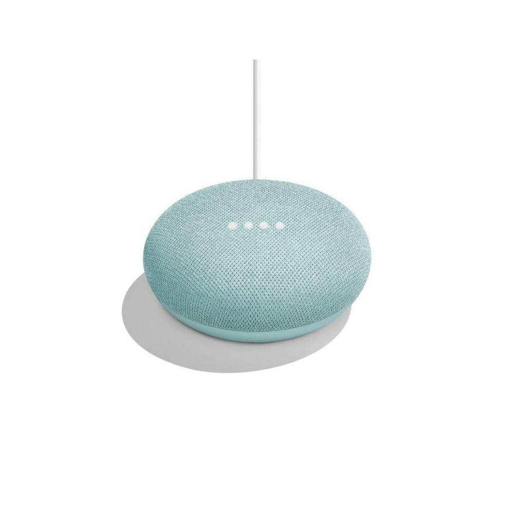 Google Home Mini Smart Speaker with Google Assistant - Aqua, Blue