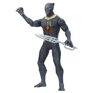 Marvel Black Panther Slash & Strike Erik Killmonger Figure