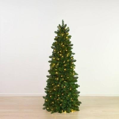 5.5ft Easy Treezy Pre-Lit LED Natural Easy Setup Artificial Christmas Tree