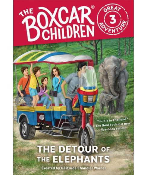 Detour of the Elephants (School And Library) - image 1 of 1