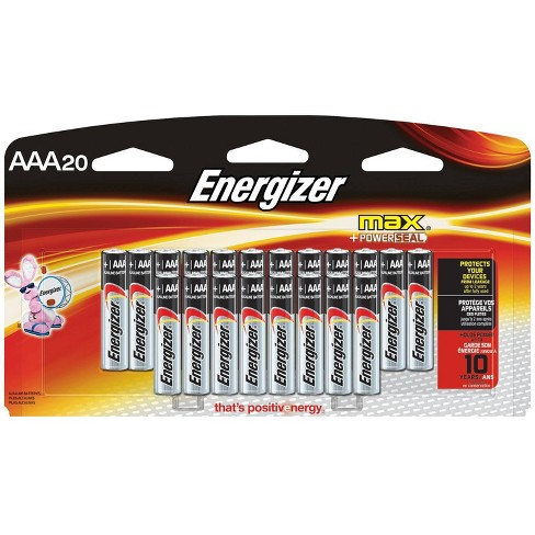 Energizer Max AAA Batteries 20 ct (E92LP-20) - image 1 of 1