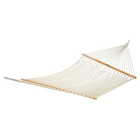 Original Pawleys Island Single Cotton Rope Hammock -Natural - image 1 of 1