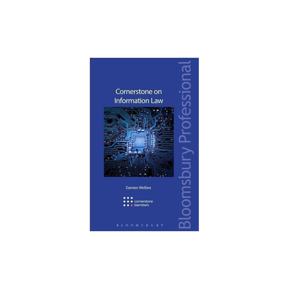 Cornerstone on Information Law - (Cornerstone On...) by Damien Welfare (Paperback)