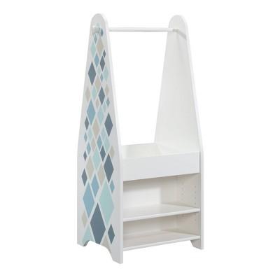 Pinwheel Kids' Open Wardrobe Soft Finish White - Sauder