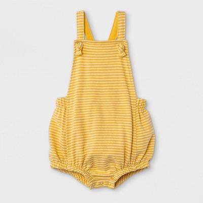 Baby Boys' Bubble Romper - Cat & Jack™ Yellow Newborn