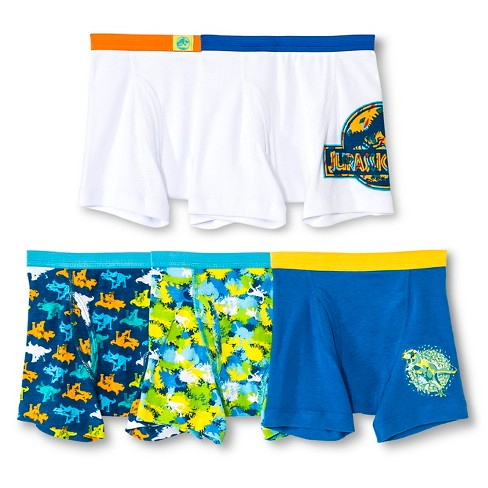 Boys' Jurassic World Boxer Briefs - image 1 of 2