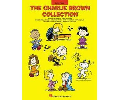 Charlie Brown Collection : Easy Piano (Paperback) - image 1 of 1