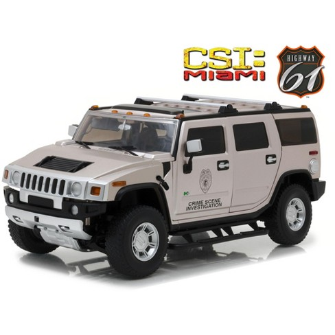 2003 Hummer H2 Csi Miami 2002 2017 Tv Series 1 18 Cast Car Model By Highway 61 Target