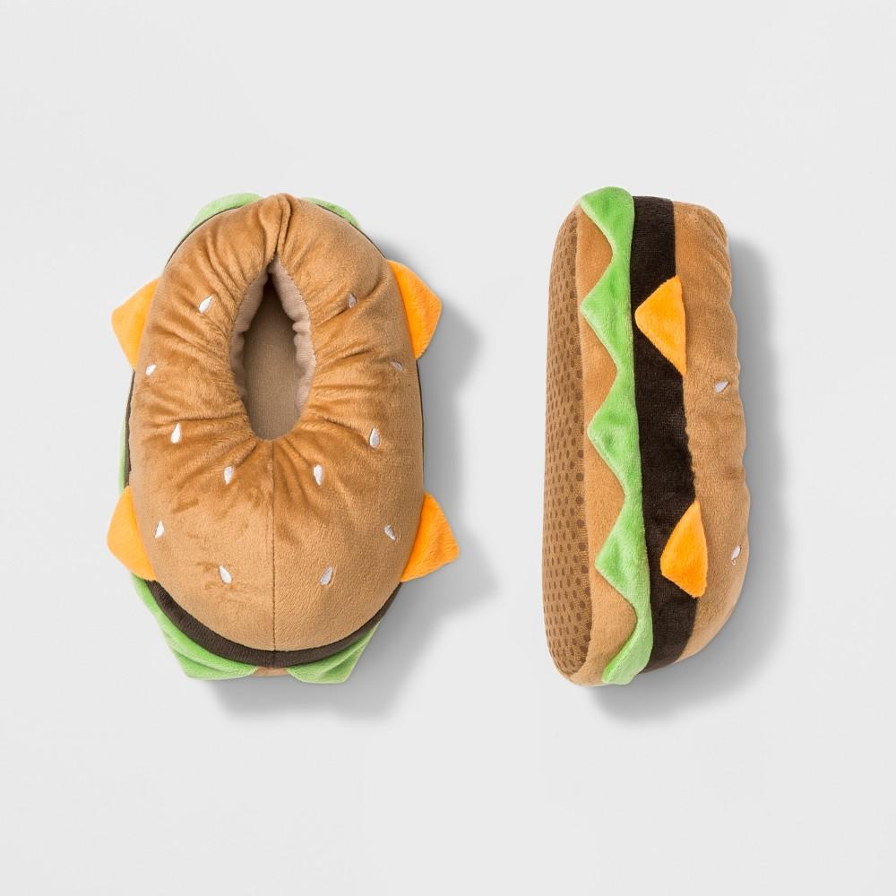 Boys' Sandwich Bootie Slippers - Cat & Jack Brown L (4-5)