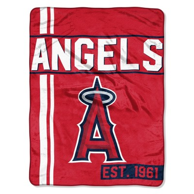 MLB Los Angeles Angels Micro Fleece Throw Blanket