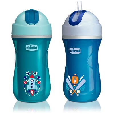 Chicco Natural Fit Insulated Cup - Blue - 12m
