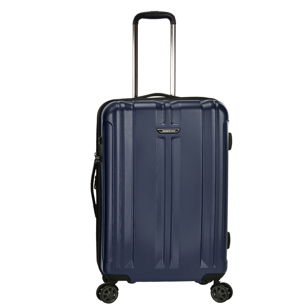 "Image of ""Traveler's Choice 26"""" La Serena Suitcase - Navy, Blue"""