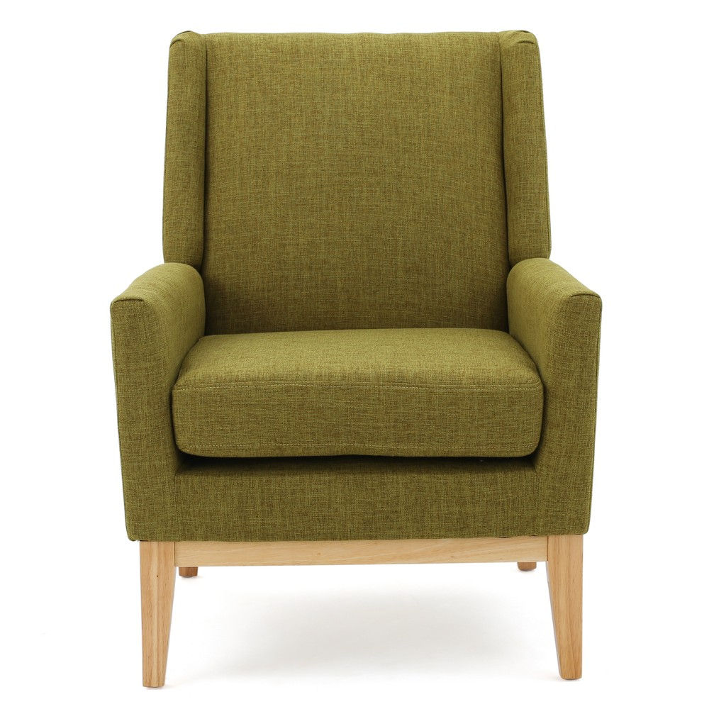 Aurla Accent Chair - Green - Christopher Knight Home