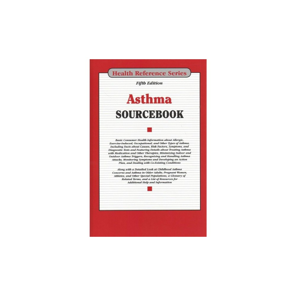 Asthma Sourcebook - 5 Har/Psc (Asthma Sourcebook) (Hardcover)