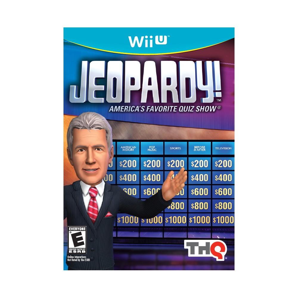 Jeopardy Nintendo Wii U, video games
