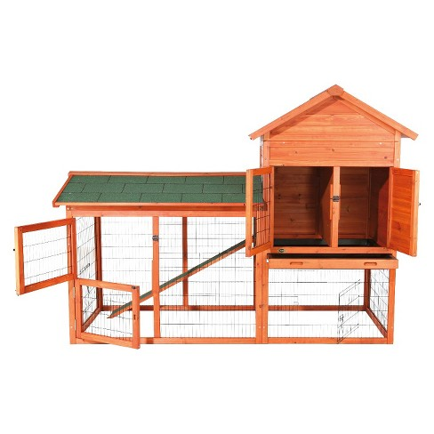 Trixie Rabbit Hutch with Outdoor Run - Large - image 1 of 4