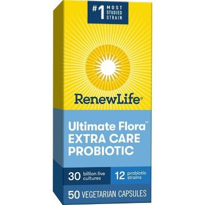 Renew Life Ultimate Flora Probiotic Extra Care - 30 Billion CFU - 50ct