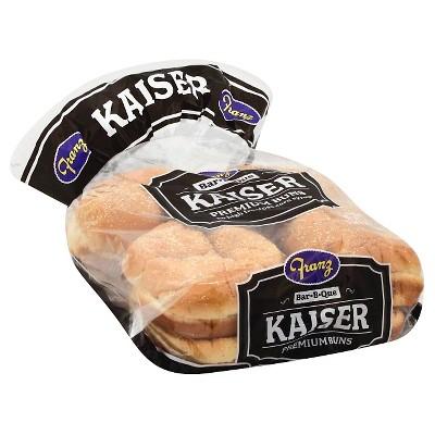 Franz Kaiser Hamburger Buns - 8pk/21oz